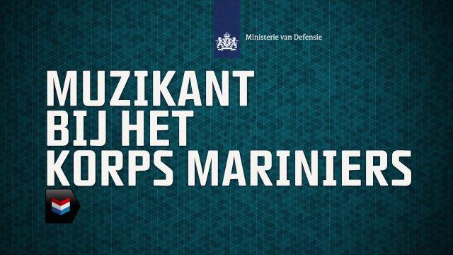 muzikant korps mariniers