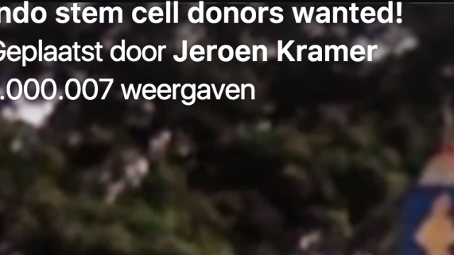1.000.000 views: Indodonor gezocht
